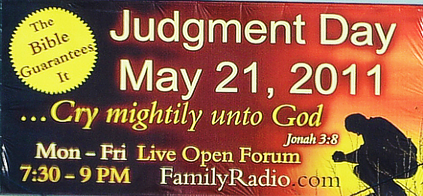 Judgement Day May 21, 2011