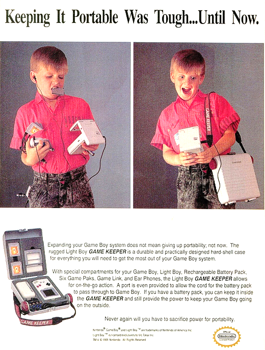 Game Boy the old fashioned way